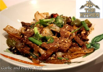 Garlic and Pepper Beef