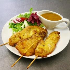 Thai grilled chicken satay